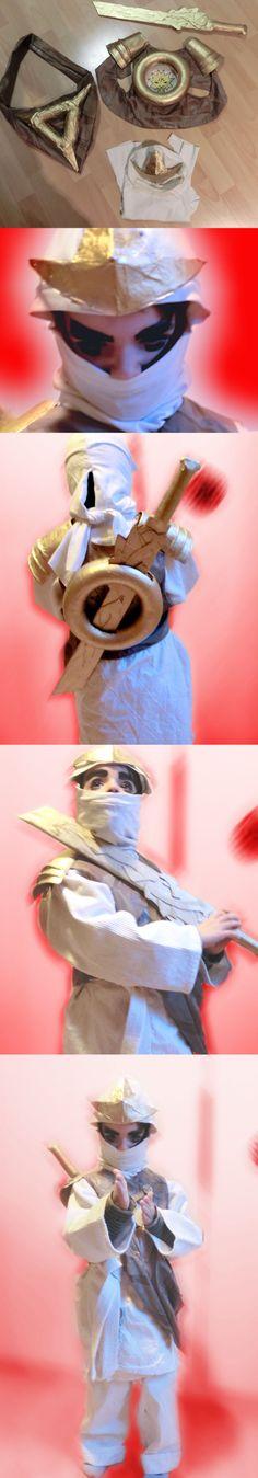 ninjago costume selfmade 2013