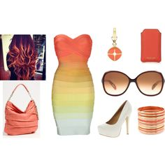 """""""Passion for Peach!"""" by maja-moe on Polyvore,  My style, Fashion, Outfit"""