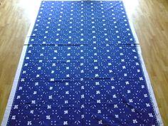 "Vintage Marimekko fabric ""Kukkaketo"" designed by Fujio Ishimoto 1975"