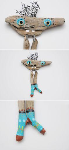 driftwood monster Carlos by JEVO
