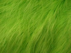 Faux Fake Fur Sparkling Tinsel Green by ShadesofGloryFabrics