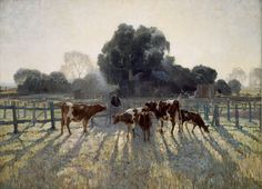 Elioth Gruner Spring Frost (1919) (from the Gallery's collection)