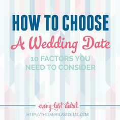 Picking A Wedding Date | 15 Best Choosing A Wedding Date Tips And Advice Images Wedding