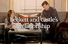 ♥ every girls dream <3 to have a relationship like Castle and Beckett's