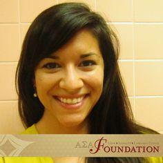 Kristina Williams, Zeta Sigma, Beta Zeta Scholarship