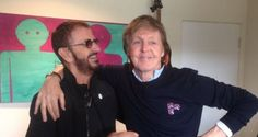 On adore Ringo Starr et Paul McCartney réunis en studio