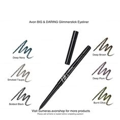 Avon BIG & Daring GlimmerStick Various Colours ~ New ~ Free P&P ~ Great Gift #Avon