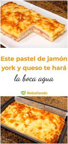 Cheese Pies, Ham And Cheese, Empanadas, Quiches, Tapas, Cheesecake, Breakfast Time, Food And Drink, Cooking Recipes