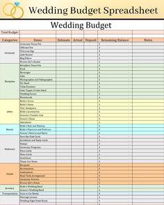 Wedding Budget Spreadsheet, Wedding Checklist Timeline, Reception Checklist, Wedding Checklist Detailed, Wedding Budget Planner, Wedding Planning Timeline, Budget For Wedding, Wedding Budget Breakdown, Wedding Guest List