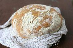 Ricetta pane senza impasto No knead bread No Knead Bread, Pasta, Biscotti, Cooker, Food And Drink, Favorite Recipes, Breads, Felicia, Quiches