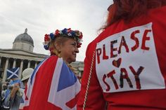 Sejumlah wilayah di Skotlandia sudah menyelesaikan penghitungan suara referendum. Hasilnya, mayoritas pemilih masih ingin Skotlandia menjadi bagian Inggris Raya.   Sementara ini, baru 9 dari 32 distrik yang menyelesaikan penghitungan. Jumlah suara yang masuk sendiri sudah lebih dari 483 ribu, dengan 50,95% diantaranya memilih Tidak. Berita lengkapnya di http://on-msn.com/1wuH4bI