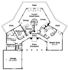 Small House Plans with Attached Garages