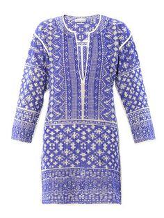 Bloom filet-crochet dress | Isabel Marant Étoile | MATCHESFASH...