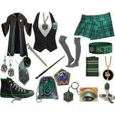 Should whip up a Slytherin uniform for All Hallows Eve! Should whip up a Slytherin uniform for All Hallows Eve! Harry Potter Kostüm, Harry Potter Cosplay, Harry Potter Outfits, Harry Potter Characters, Slytherin Clothes, Hogwarts Uniform, Casual Cosplay, Cosplay Outfits, Slytherin Pride