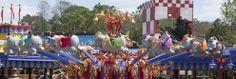 Dumbo the Flying Elephant, Storybook Circus in New Fantasyland at Magic Kingdom Park
