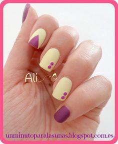 Manicura Amarillo Pastel