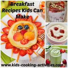 Easy recipes kids can make alone