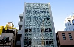 Terada Design Architects, N Building. The facade is a hyperlink