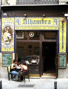 Taberna Alhambra, calle Victoria, Madrid