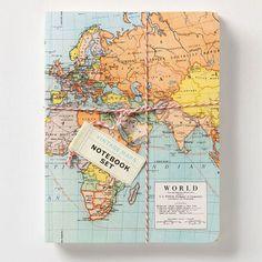 Cavallini Mini Notebooks Vintage