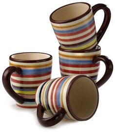on my wish list..coffee mugs like on the Show two and half men. Would go great with new Fiesta ware plates!!!