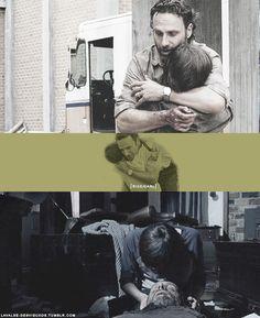 Rick & Carl Grimes