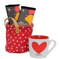 Cheers to your special valentine's day with this perfectly designed combo. Celebrate this valentine with the beautifully designed combo which includes a 12 into12 inches soft cushion, 100g hand made chocolates and a stylish 3.6 into 3.6 inches coffee mug completes this wonderful hamper. Shipping Status - GiftsXpert.in - Product deliver by Courier in 4 to 7 day