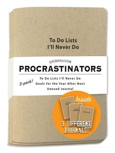 Sure, I'll get to that later. Me? A procrastinator? No way. Just because I have…