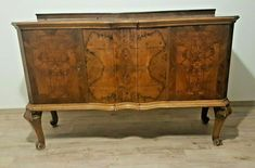 Antique Chest of Entirely of Walnut wood all Hand-Carved Ornament Antique Chest, Walnut Wood, Chest Of Drawers, Hand Carved, Carving, Ornaments, Antiques, Ebay, Home Decor