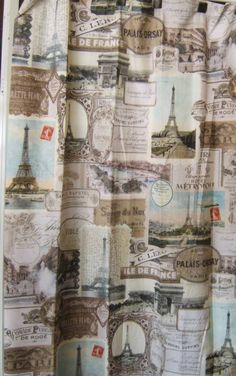 ... curtain indulge in a paris eifel tower shower curtain to set the theme