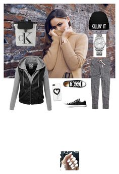 """""""Cool Fashion Style"""" by smileamy on Polyvore featuring Madewell, Converse, Zero Gravity and Calvin Klein"""