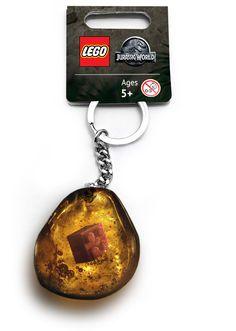 LEGO Jurassic World Keyring