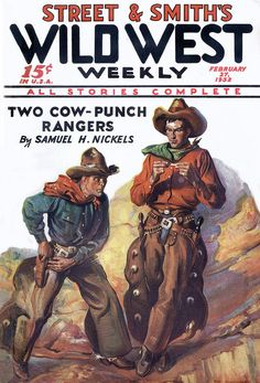 Wild West Weekly [1932-02-27] cover