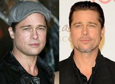 Brad Pitt gets a little help with aging, making him look as flawless as ever.
