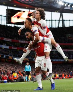 Emery's Arsenal are a bag of nerves at the back but hot shot Lacazette keeps them course for final Aubameyang Arsenal, Arsenal Players, Arsenal Football, Arsenal Wallpapers, Free Kick, European Football, Soccer Training, Soccer Players, Olympic Games