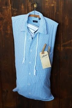 Men's Shirt Laundry Bag ~ Steal the Shirt Off His Back!