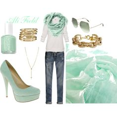 PeppppermintGold, created by ali-field.polyvore.com