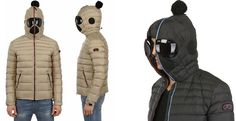 Hooded Jacket with built-in Goggles