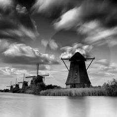 Beautiful photo of Kinderdijk in The Netherlands! Hope to go back some day!