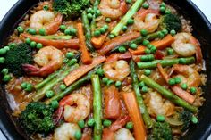"This paella is one of the best things I've ever made. I recently watched an episode of ""Avec Eric"" (with Eric Ripert, no pun intended) where he made a great looking seafood paella…"