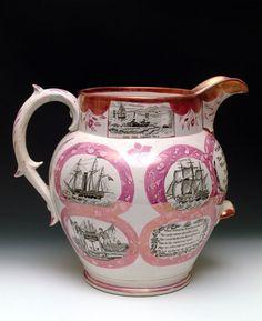 Seaham Pottery jug