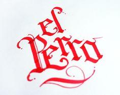 Calligraphic practice stuff by Erik Gonzalez