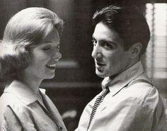 """Al Pacino y Diane Keaton en """"El Padrino Parte II"""" (The Godfather Part II), 1974"""