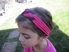 learn how to tie celtic-ish style knots and craft a super cute head band, no sewing!