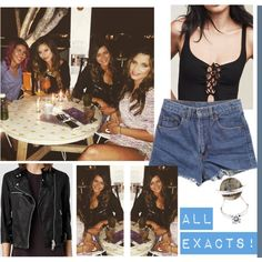 ELEANOR CALDER INSPIRED OUTFIT <3 by costina-raftu on Polyvore featuring AllSaints, Fendi and Levi's