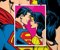 Forever Love - Wonder Woman and Superman