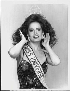 Cecilia Bolocco from Chile.  Miss Universe 1987.