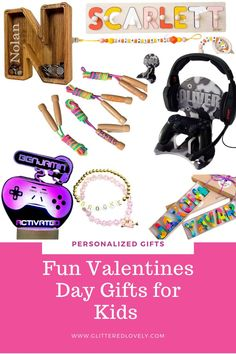 Awesome Valentine's Day Gift Ideas for children that they will love and keep!