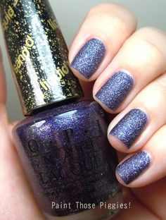 My signature Fall nail color: OPI Fall 2013 San Francisco Collection: Alcatraz Rocks