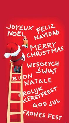 #JoyeuxNoel, #FelizNavidad, #MerryChristmas from iPhoneRetinaWallpaper.com!